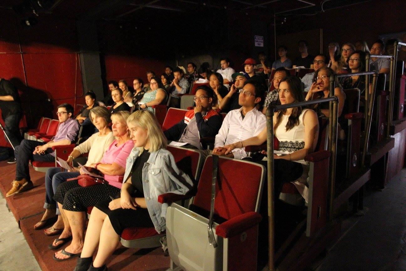 Chromolume Theater Packed House