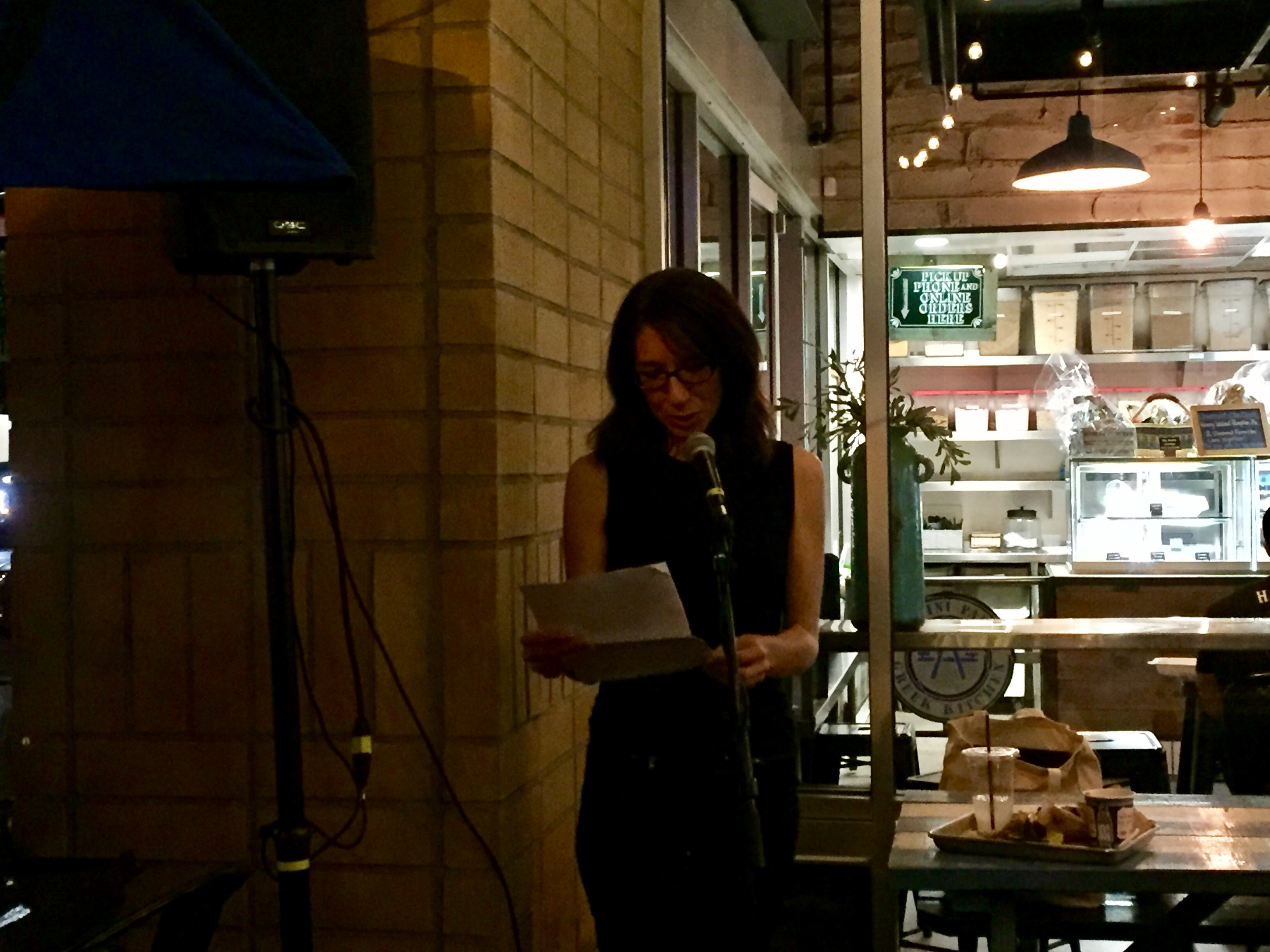 Melissa Secola proves flash isn't just for fiction at Lit Crawl L.A.
