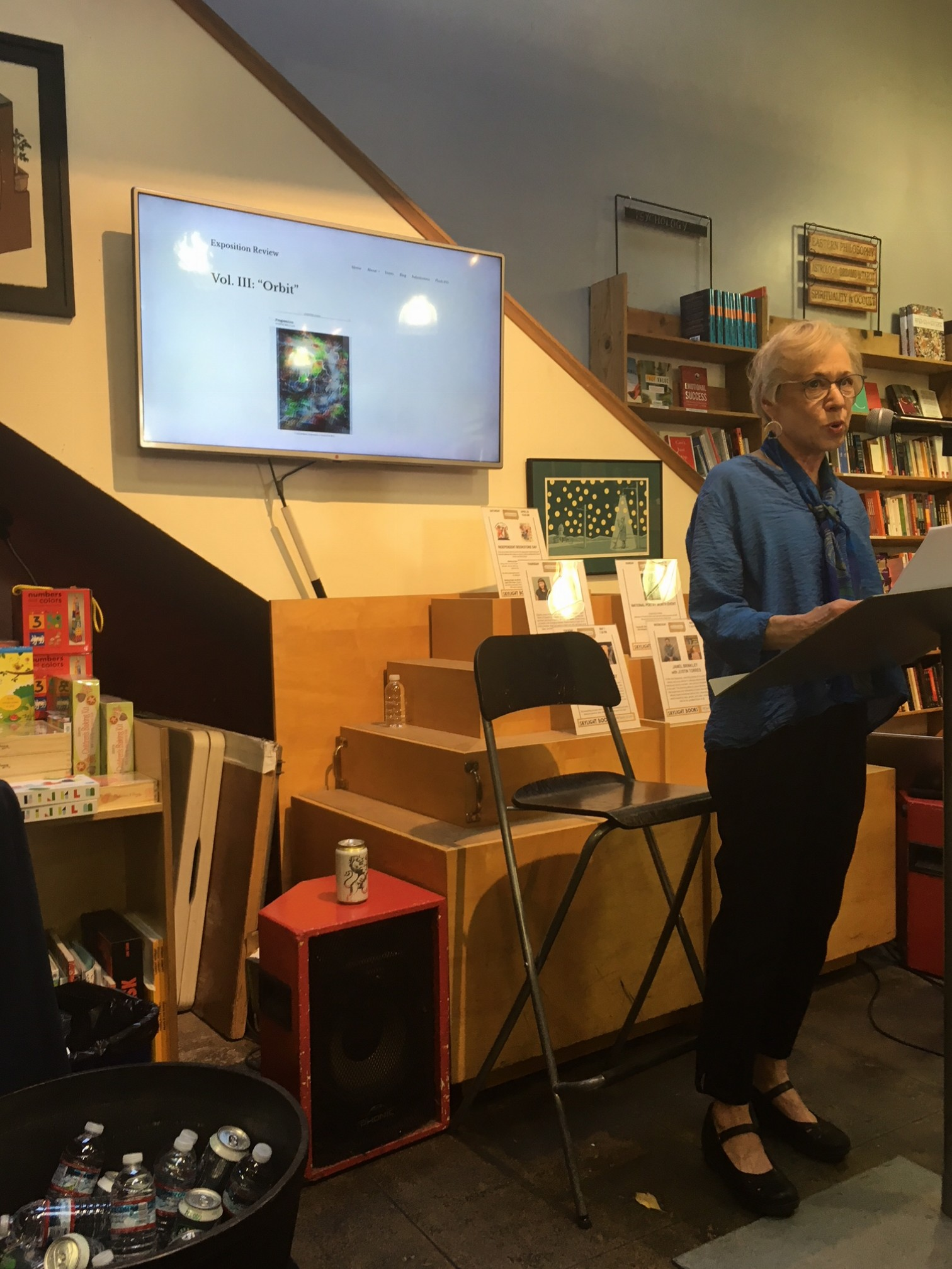 "Renee C. Winter reading from ""When Daughters Float out of Orb"""