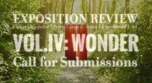 "Call for Submissions for Volume IV: ""Wonder"""
