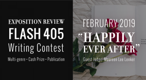 "Call for Entries: Flash 405, Feb 2019: ""Happily Ever After"""