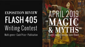 "Call for Entries: Flash 405, April 2019: ""Magic & Myths"""