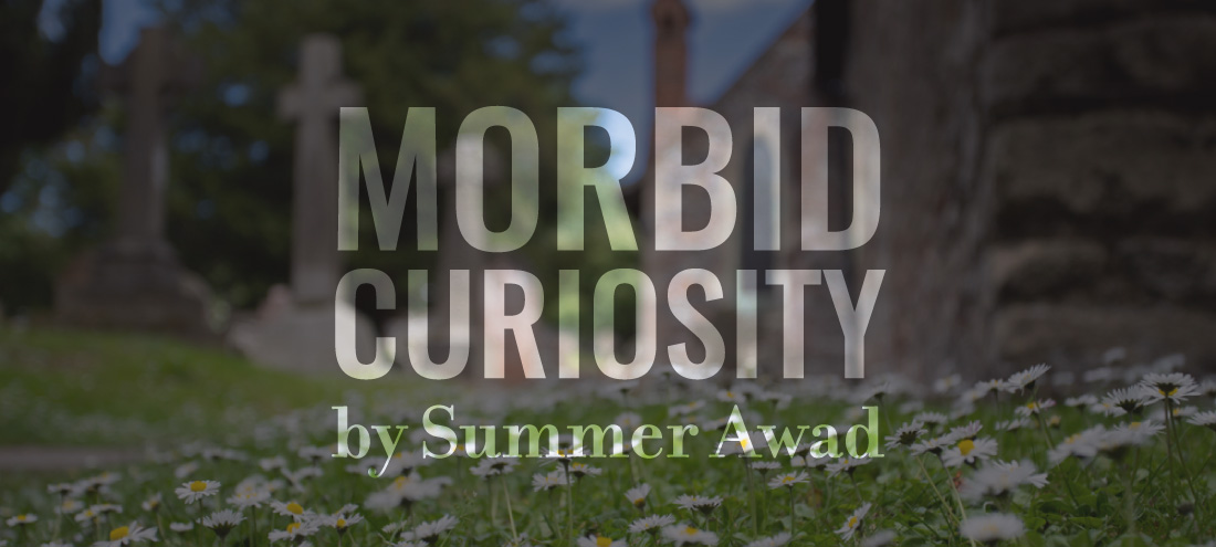 """Flash 405, June 2019 """"Legacy"""" 2nd Place - """"Morbid Curiosity"""" by Summer Awad"""