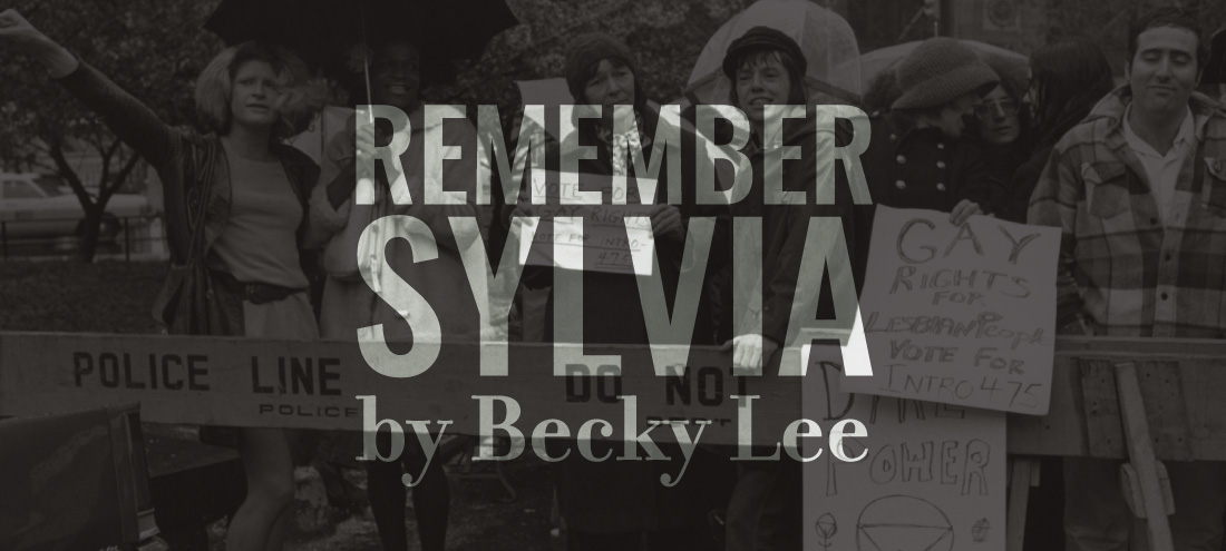 "Flash 405, June 2019 ""Legacy"" HM - ""Remember Sylvia"" by Becky Lee"