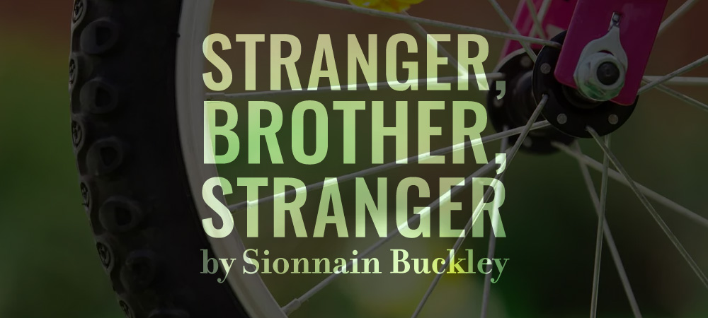 Flash 405, August 2019: Underneath the Words - Stranger, Brother, Stranger by Sionnain Buckley