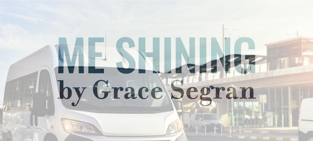 Flash 405, June 2020: International Travel - Me Shining by Grace Segran