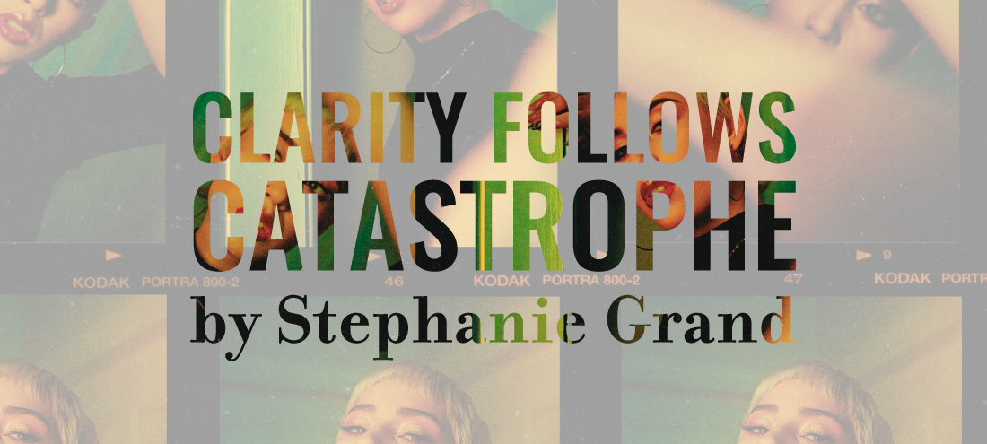 'The Other' fiction writing contest winner 'Clarity Follows Catastrophe' by Stephanie Grand