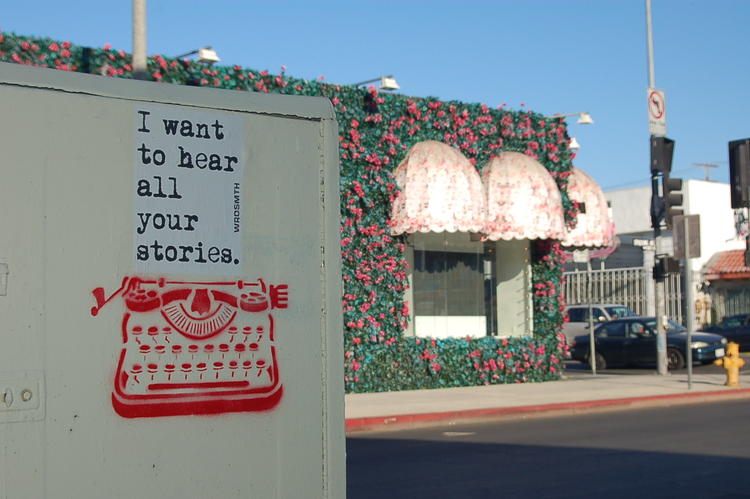 i want to hear all your stories