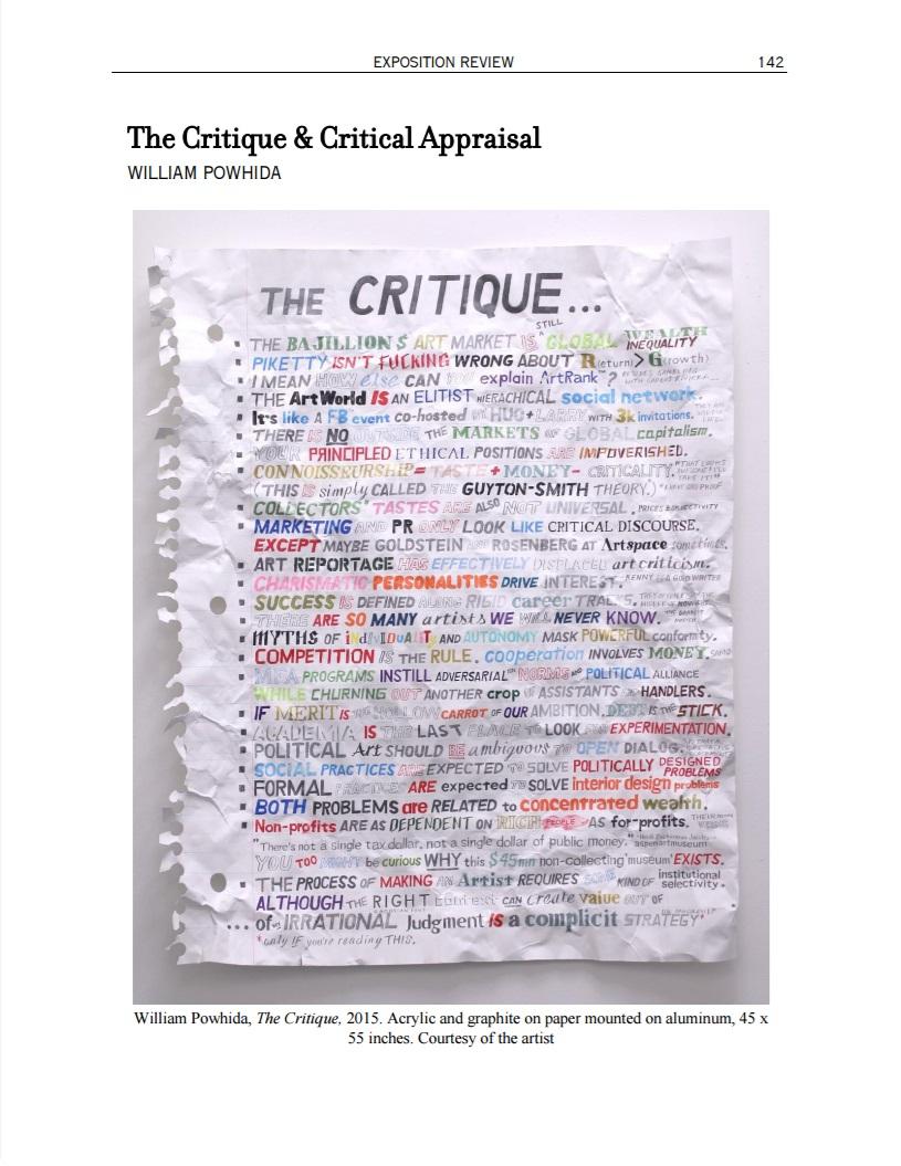 Expo-TheCritique