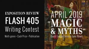 "Call for Entries: Flash 405, April 2019: ""Magic & Myths"""