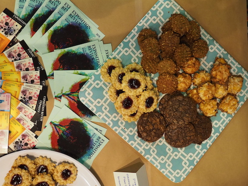Thankfully, it wasn't a first, nor a last, for delicious treats by Expo's resident chef (and Nonfiction Editor) Annlee Ellingson.