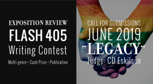 """Call for Entries: Flash 405, June 2019: """"Legacy"""""""