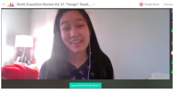 """Audrey Sioeng reads from her poem """"Dominos"""""""